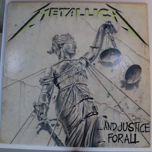 Metallica Vinyl - And Justice for All LP