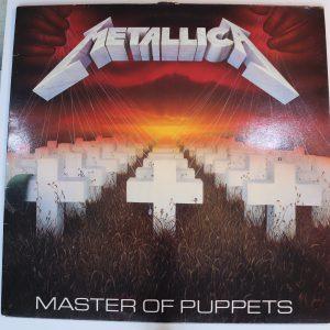 Master of Puppets - Metallica LP